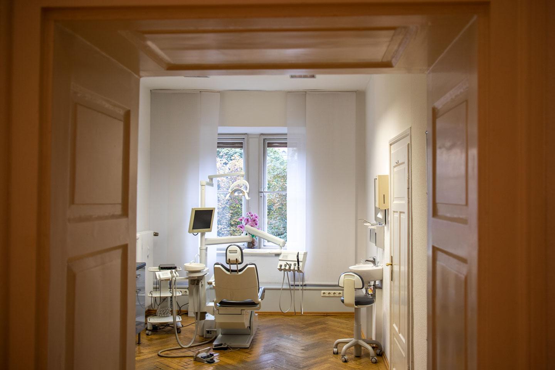 Blick in Praxis 2 Dr. med. dent. Prestele M. Sc. in München